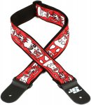 Planet Waves 50JS02 Joe Satriani Guitar Strap - Up In Flames
