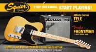 Squier Affinity Tele Pack con Fender Frontman 15G - BBL