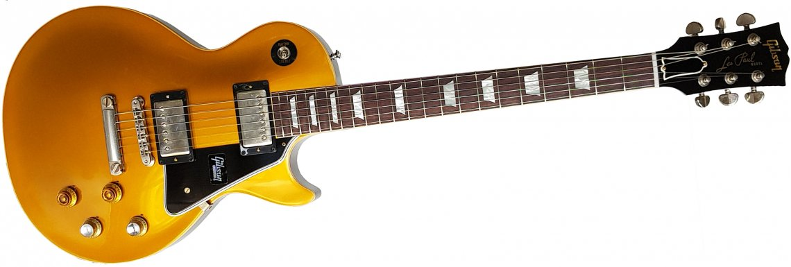 "Gibson Custom Historic '57 Les Paul Goldtop M2M ""JB"" VOS - Click Image to Close"