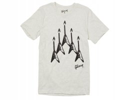 Gibson Flying V Formation T-Shirt - S