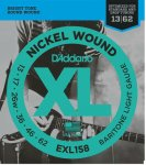 D'Addario EXL158 Nickel Wound, Baritone-Light, 13-62