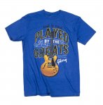 Gibson Played by The Greats T-Shirt Royal - L