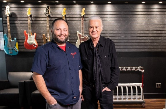 L'attesissima Fender Dragon Telecaster di Jimmy Page