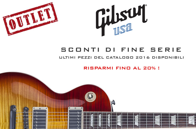 Gibson USA 2016 Outlet