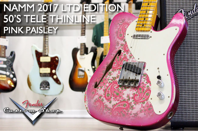 Fender Custom Pink Paisley Thinline