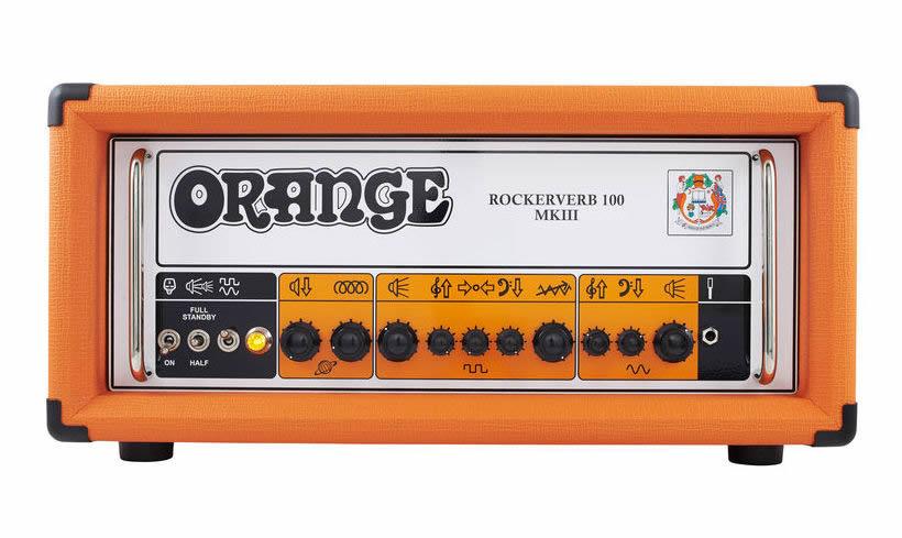 orange rockerverb 100h mkiii gino strumenti musicali. Black Bedroom Furniture Sets. Home Design Ideas