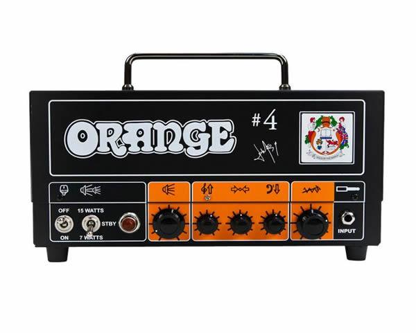orange tiny terror tt15jr jim root 4 signature gino. Black Bedroom Furniture Sets. Home Design Ideas
