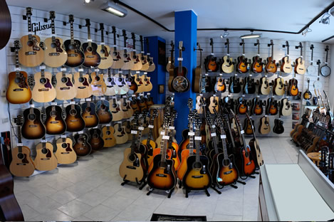 Acoustic Guitars Room