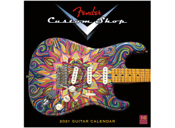 Fender 2021 Custom Shop Calendar