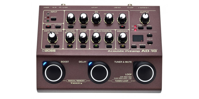 Boss AD-10 Acoustic Preamp