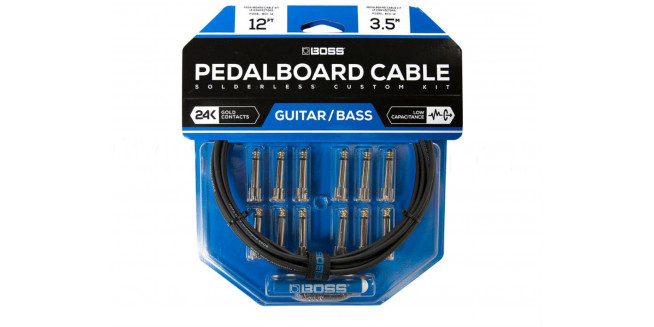 Boss BCK12 Solderless Pedalboard Custom Cable Kit