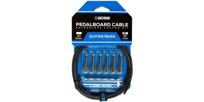 Boss BCK6 Solderless Pedalboard Custom Cable Kit