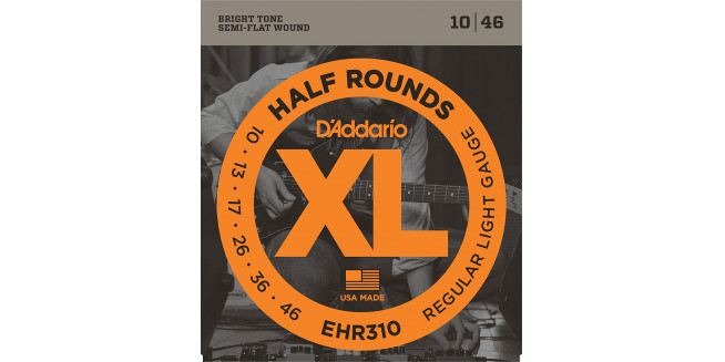 D'Addario EHR310 Nickel Wound, Regular Light, 10-46