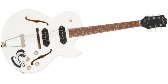 Epiphone George Thorogood White Fang ES-125TDC Signature Outfit