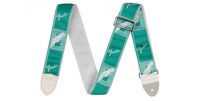 "Fender 2"" Custom Color Monogrammed Strap - SFG"