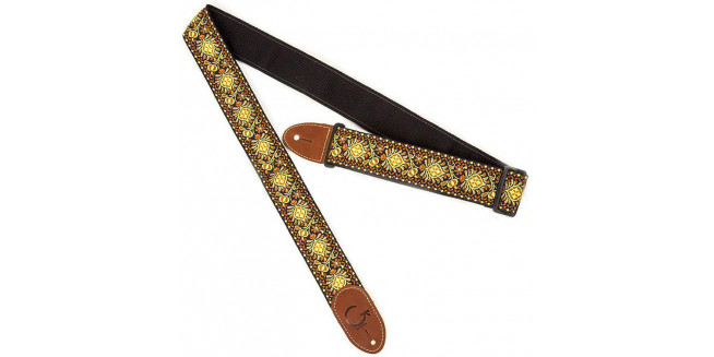 Gretsch G-Brand Strap Black End - YLW