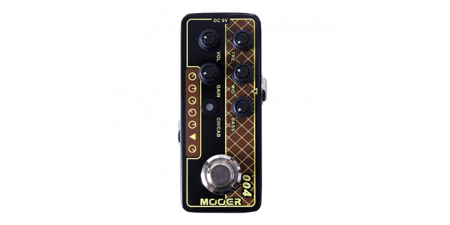 Mooer Micro PreAMP 004 Day Tripper - Based on Vox AC30