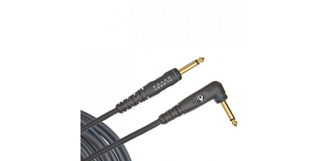 D'Addario Custom Series Instrument Cable Angled - 6m