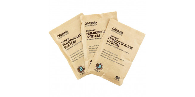 D'Addario Two-Way Humidification System Conditioning 3-Pack