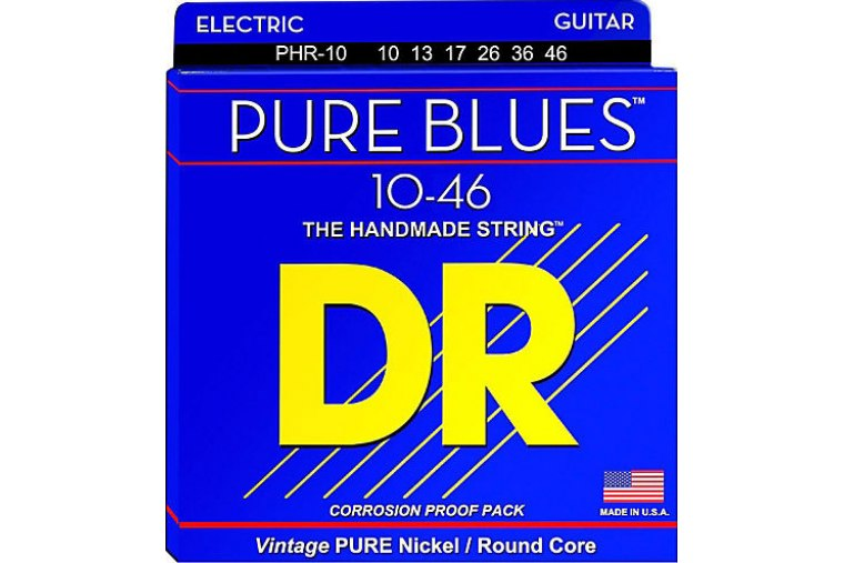 DR Strings Pure Blues Medium 10/46
