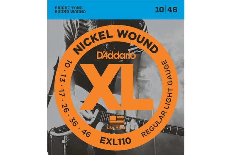 DAddario EXL110 Nickel Wound, Regular Light, 10-46