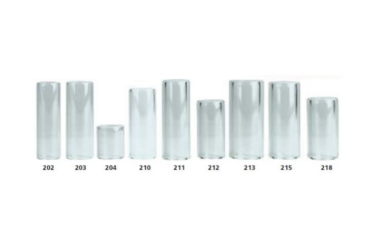 Dunlop 211 Heavy Pyrex Glass Slide