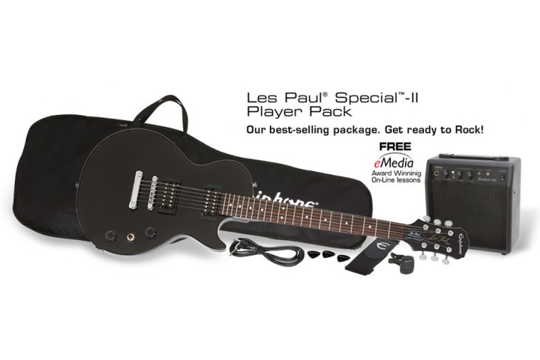 Epiphone Les Paul Player Pack - EB