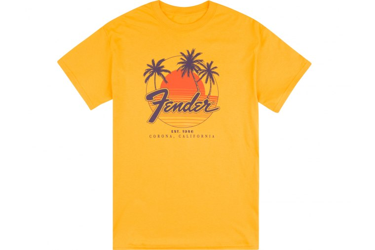 Fender Palm Sunshine T-Shirt - S