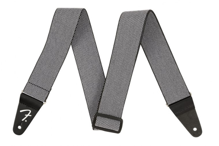 Fender Weighless Tweed Strap - WH