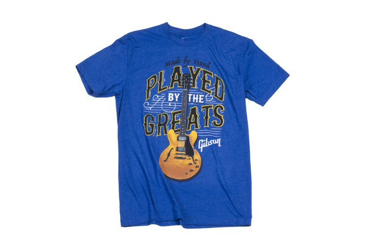 Gibson Played by The Greats T-Shirt Royal - M