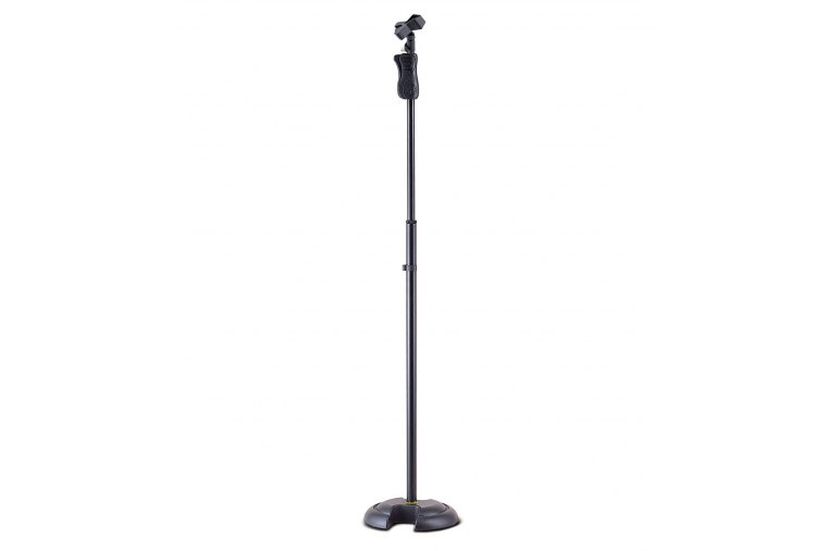 Hercules MS201B Weighted Base Microphone Stand