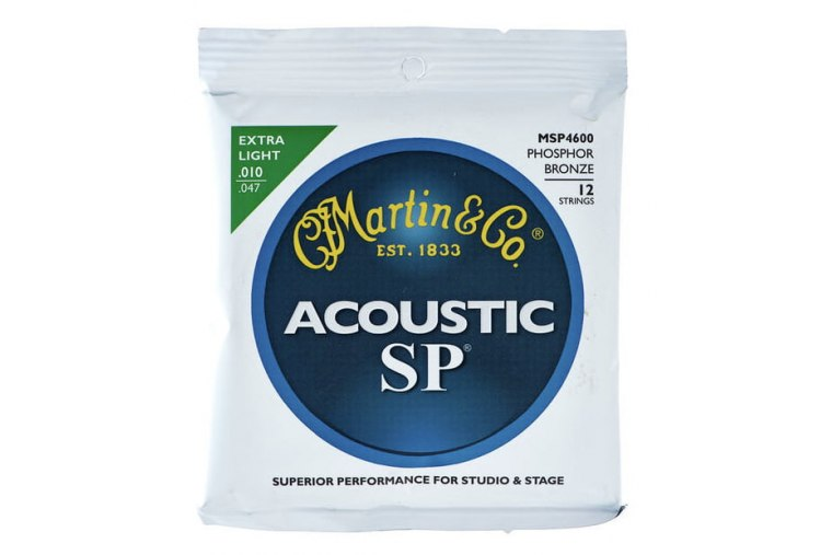 Martin MSP4600 12-Strings SP Phosphor Bronze Extra Light 10/47