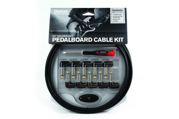 D'Addario Cable DIY Solderless Pedalboard Cable Kit